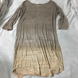 Ombré dress